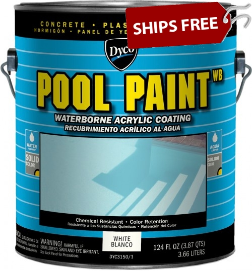 Waterbased Acrylic Pool Paint by DYCO